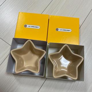 ルクルーゼ(LE CREUSET)のルクルーゼ   スター 星 ラムカン 2色セット(食器)