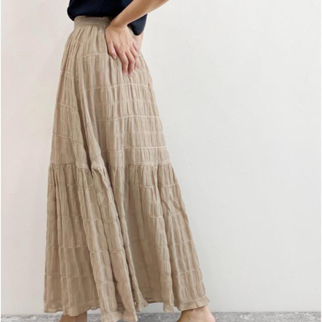LOWRYS FARM(ローリーズファーム)の試着のみ未使用 LAKOLE ロングスカート レディースのスカート(ロングスカート)の商品写真