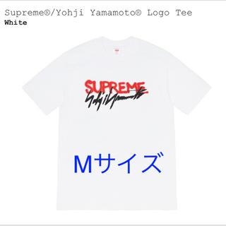 Supreme - Supreme Yohji Yamamoto Logo Tee White M