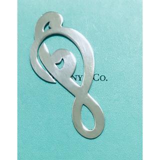 ティファニー(Tiffany & Co.)のティファニー TIFFANY  音符 マネークリップ しおり ブックマーク (マネークリップ)
