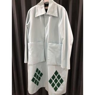 マルタンマルジェラ(Maison Martin Margiela)のナマチェコ NAMACHEKO 19SSコレクション着用 ステンカラーコート (ステンカラーコート)