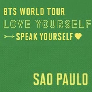 防弾少年団(BTS) - BTS💜 SPEAK YOURSELF ♥  SAO PAULO