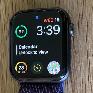 Apple Watch - Apple Watch series 4  44㎜ アルミニウム スペースグレー