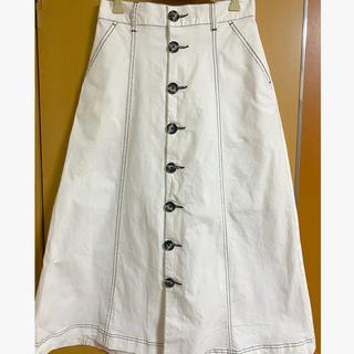 ヘザー(heather)の即購入◎ Heather ステッチスカート (ロングスカート)