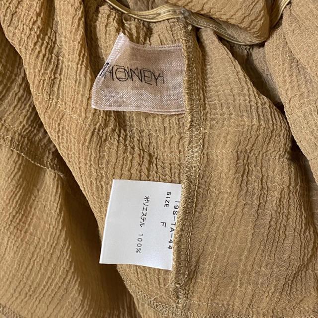 Honey mi Honey(ハニーミーハニー)のHONEY MI HONEY トップス レディースのトップス(シャツ/ブラウス(半袖/袖なし))の商品写真
