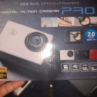デジタルアクションカメラ pro(ビデオカメラ)