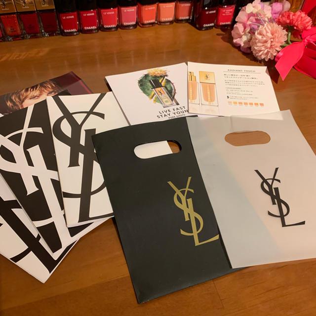 Yves Saint Laurent Beaute(イヴサンローランボーテ)の【値下げ】 イヴ・サンローラン ボーテ カタログ 袋 ショップ バッグ 8点 コスメ/美容のコスメ/美容 その他(その他)の商品写真