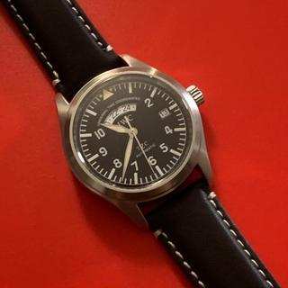 インターナショナルウォッチカンパニー(IWC)の最安値★IWC パイロットウォッチ UTCフリーガー 耐磁(腕時計(アナログ))