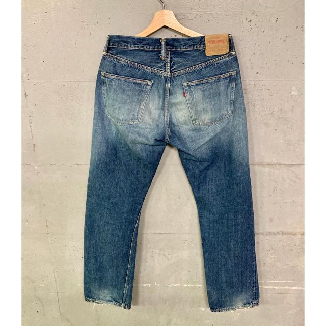WAREHOUSE(ウエアハウス)のWARE HOUSE× DUBBLE WORKS セルビッチデニムパンツ!日本製 メンズのパンツ(デニム/ジーンズ)の商品写真