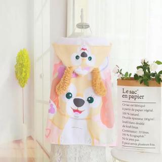 Disney - 日本未発売 クッキーアン  フード付きダッフィー  プールタオル  バスタオル