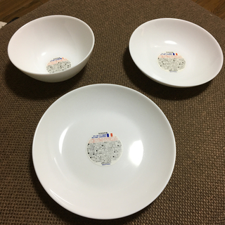 山崎製パン - 強化ガラスお皿3枚セット