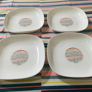 山崎製パン - 強化ガラスお皿4枚