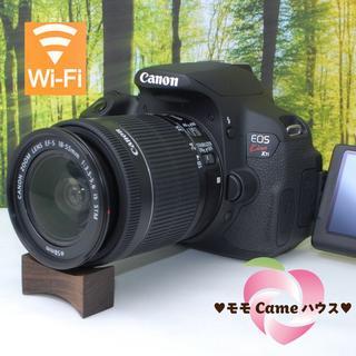 Canon - キャノン kiss X7i☆スマホ転送OK!液晶画面自由自在☆#105500