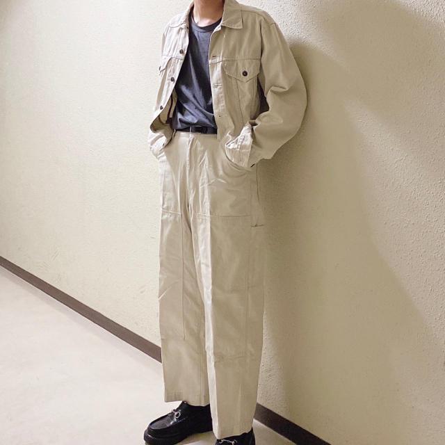 BEAUTY&YOUTH UNITED ARROWS(ビューティアンドユースユナイテッドアローズ)のused Levi's work set up メンズのジャケット/アウター(Gジャン/デニムジャケット)の商品写真