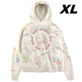 シュプリーム(Supreme)のXL 新品 SAINT MICHAEL SM7 HOODIE パーカー 正規品(パーカー)