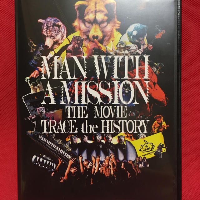 MAN WITH A MISSION(マンウィズアミッション)のMAN WITH A MISSION THE MOVIE -TRACE the  エンタメ/ホビーのDVD/ブルーレイ(ミュージック)の商品写真