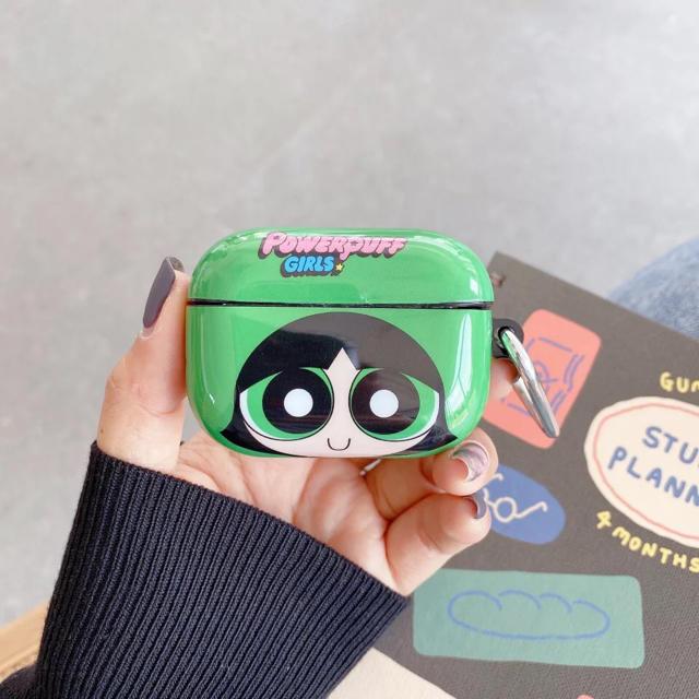 【パワーパフガールズ・バターカップ】AirPods Pro ケースカバー スマホ/家電/カメラのオーディオ機器(ヘッドフォン/イヤフォン)の商品写真
