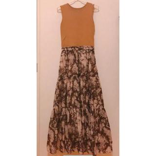 Mila Owen - 美品 ミラオーウェン パイソン ワンピース タンクトップ 秋 スカート