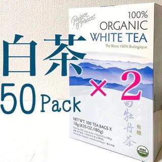 白茶 ホワイトティー 100パック White tea 中国茶 美容 はくちゃ(茶)