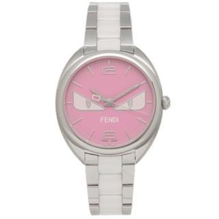 フェンディ(FENDI)のフェンディ 腕時計 FENDI シルバー ピンク(腕時計)