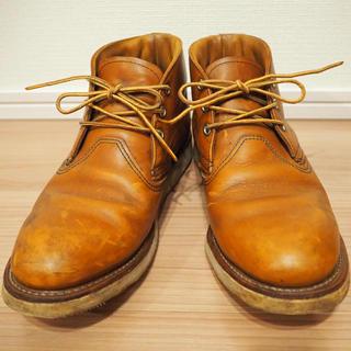 レッドウィング(REDWING)のレッドウィングクラシックチャッカブーツ3140US8.5/26.5cm茶ブラウン(ブーツ)