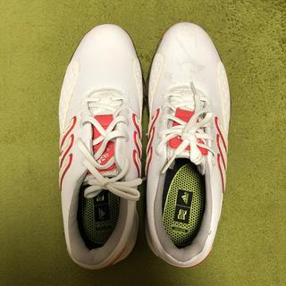 アディダス(adidas)のアディダス  ゴルフシューズ powerband chassis(シューズ)