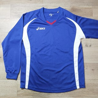 asics - アシックス/ジュニアプラクティスシャツ長袖150 サッカー フットサル
