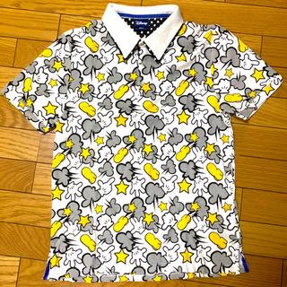 ディズニー(Disney)のお値下げ!ディズニー柄ポロシャツ Mサイズ(ポロシャツ)