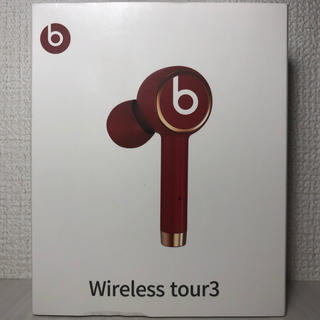 Beats by Dr Dre - 【新品 即決】beats Wireless tour3 イヤホン レッド 赤