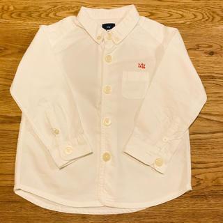 アンダーカバー(UNDERCOVER)のundercover✖️UNIQLO ボタンダウンシャツ 95(ブラウス)