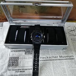 メンズ スポーツ ウォッチ❗アルミ/時計コレクションBox 付き(腕時計(デジタル))