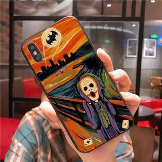 アップル(Apple)のiPhoneケース ムンクの叫び ジョーカー x xs(iPhoneケース)