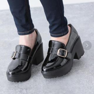 ヘザー(heather)のヘザー Heather 靴 モンクストラップマニッシュ 876702 (ローファー/革靴)
