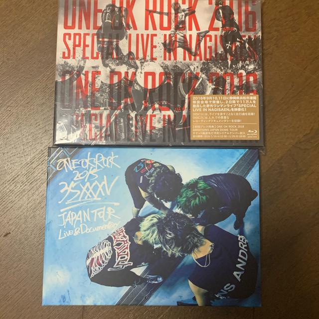 ONE OK ROCK(ワンオクロック)のONE OK ROCK Blu-ray DVD エンタメ/ホビーのDVD/ブルーレイ(ミュージック)の商品写真