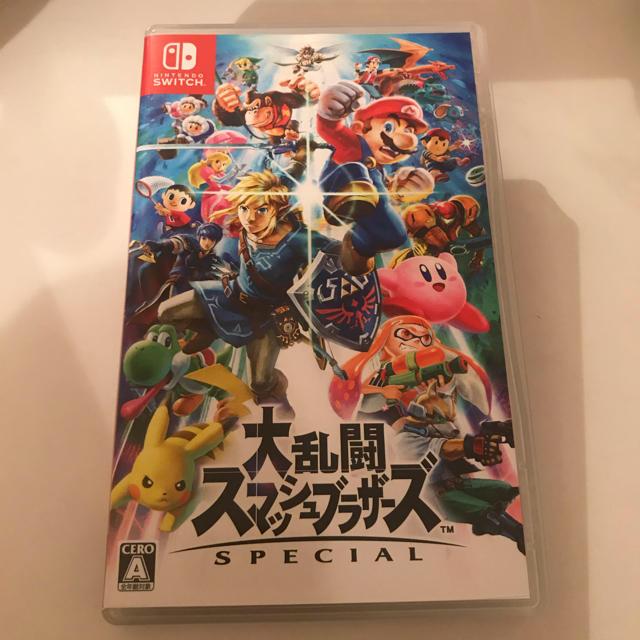 Nintendo Switch(ニンテンドースイッチ)の大乱闘スマッシュブラザーズ SPECIAL ソフト エンタメ/ホビーのゲームソフト/ゲーム機本体(家庭用ゲームソフト)の商品写真