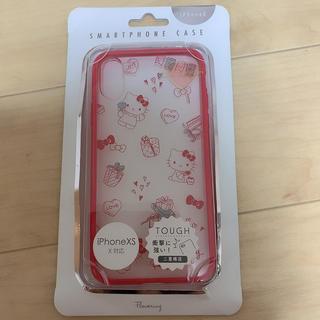 ハローキティ(ハローキティ)のキティ iphoneXSケース(iPhoneケース)