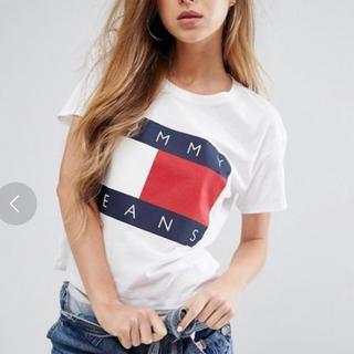 トミーヒルフィガー(TOMMY HILFIGER)のtommy jeans Tシャツ ホワイト(Tシャツ(半袖/袖なし))