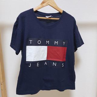 トミーヒルフィガー(TOMMY HILFIGER)のtommy jeans Tシャツ ネイビー(Tシャツ(半袖/袖なし))