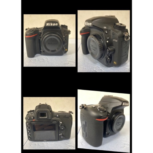 Nikon(ニコン)のNikon D750&24-120 4G VR レンズ おまけ付き スマホ/家電/カメラのカメラ(デジタル一眼)の商品写真