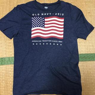 オールドネイビー(Old Navy)の送料込み! 美品 アメリカ輸入 オールドネイビー プリントTシャツ(Tシャツ/カットソー(半袖/袖なし))