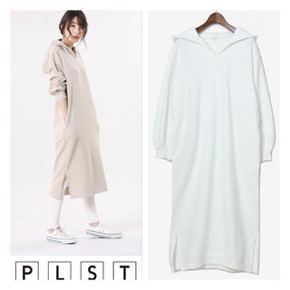 PLST - プラステ新品パーカーワンピース