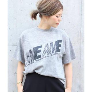 DEUXIEME CLASSE - AMERICANA AME Tシャツ
