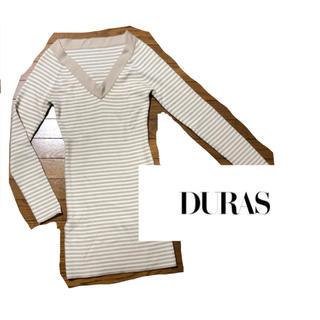 デュラス(DURAS)のDURAS ワンピース(ミニワンピース)