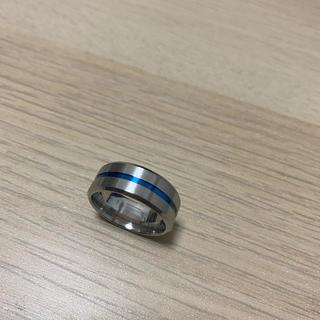 指輪 シルバーリング ブルー(リング(指輪))