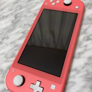 Nintendo Switch - ニンテンドースイッチライト☆コーラル