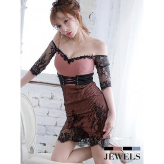 JEWELS - JEWELS 新品未使用タグ付き キャバドレス