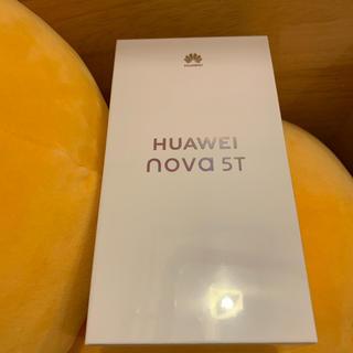 ANDROID - ★新品未開封★ HUAWEI nova 5T ブラック 楽天対応