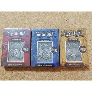 遊戯王 - 遊戯王 三幻神 金属製カード 5000個限定 オシリスの天空竜 遊戯王ジュン