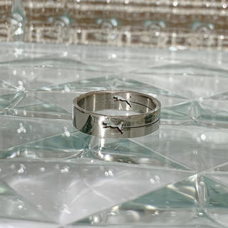 ⭐︎1点物⭐︎ ステンレスリング 指輪 24号(リング(指輪))
