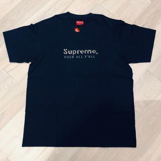 シュプリーム(Supreme)の新品タグ付き★シュプリーム メタルロゴ Tシャツ L【即購入OK】(Tシャツ/カットソー(半袖/袖なし))